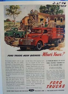 Ford trucks mean business. Ad