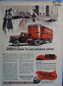 Fruehauf trailers engineered transportation. Ad