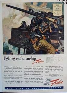 Fisher fighting craftsmanship. Ad