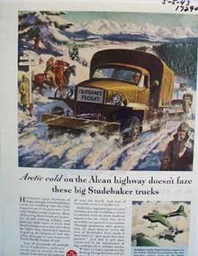 Studebaker unstoppable trucks. Ad
