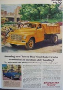 Studebaker amazing new power plus truck