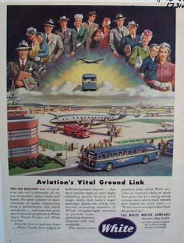 White aviations vital ground link. Ad