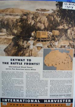 International Skyway to the battle fronts. Ad