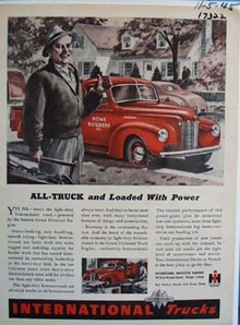 International all-truck and loaded with power. Ad