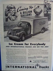 International ice cream for everybody. Ad