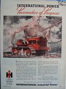 International power pacemaker of progress. Ad