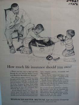 Massachusetts Mutual how much life insurance ad