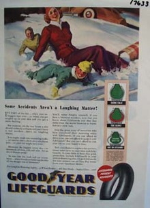 Good Year some accident aren't a laughing matter. Ad
