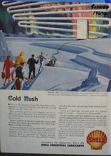 Shell cold rush Ad 1947