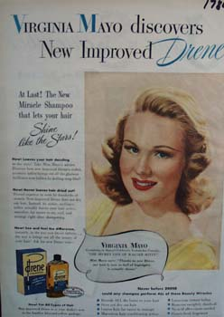 Drene shine like the stars Ad 1947.