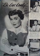 Jane Wyman be Lux lovely Ad 1951.