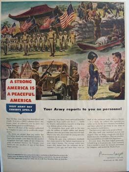 Army Reports on Personnel Ad 1948