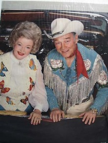 Roy Rogers & Dale Evans Picture 1986