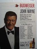 John Wayne & Budweiser Ad 1970