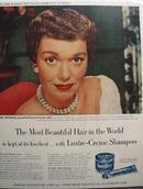 Jane Wyman & Lustre Crme Ad 1952