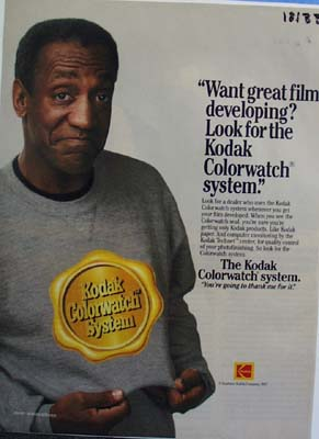 Kodak Bill Cosby your gonna thank me Ad 1987.