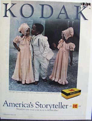 Kodak America's Storyteller Ad 1980.