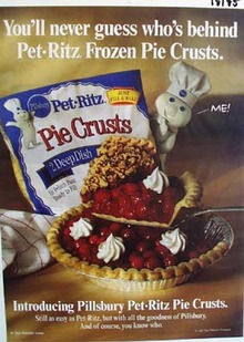 Pillsbury Pet Ritz pie crusts Ad 1997