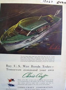 Chris-Craft Expect Great Things Ad 1943