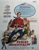 Color 1952 ad of Red Mountain