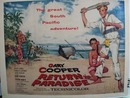 Color 1953 ad of Return to Paradise starring Barry Jones