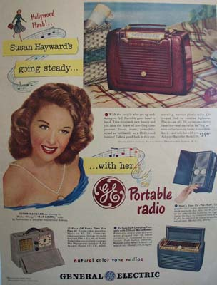 General Susan Hayward Ad 1948.