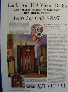 RCA Victor brings the Magic Ad 1936.