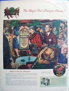 Wurlitzer phonographs the magic that changes moods Ad 1947
