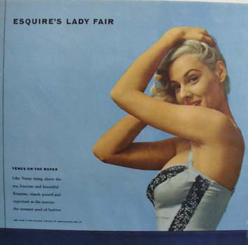 Esquire's Lady Fair Pin Up Girl No Date