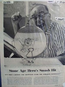 Flintstone's Smash Hit Article with Pictures 1960