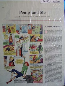Penny and Me Comic 1949