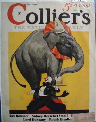 Collier's Magazine Cover 1934