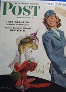 Saturday Evening Post Cover 1942