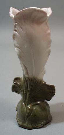 Porcelain lily vase