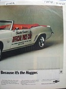 Camaro Pace Car 1969