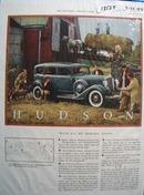 Hudson All Worldly Goods Ad 1933