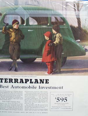 Hudson Terraplane Best Investment Ad 1936