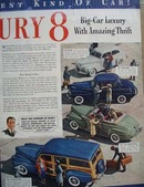 Mercury With Amazing Thrift Ad 1941