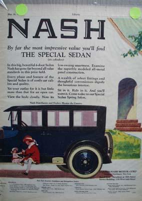 Nash The Special Sedan Ad 1924