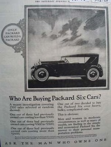 Packard Who Buys Them Ad 1924