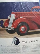 Packard Turned Over To You Ad 1935