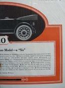Reo Motor Car Model Six Ad 1919.