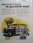 Jeep New Vehicle New Needs Ad 1946