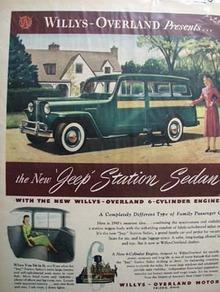 Jeep Family Passenger Car Ad 1948
