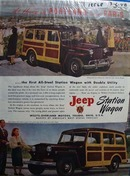Jeep Portland or Paris Ad 1948