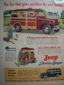 Jeep New Kind of Car Ad 1949