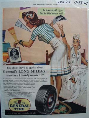 General Tire Long Mileage Ad 1941