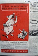Perfect Circle Piston Rings Crying Hog Ad 1936