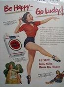 Lucky Strike & Ballerina Ad 1951