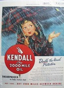 Kendall unsurpassed to help motors last Ad 1947.